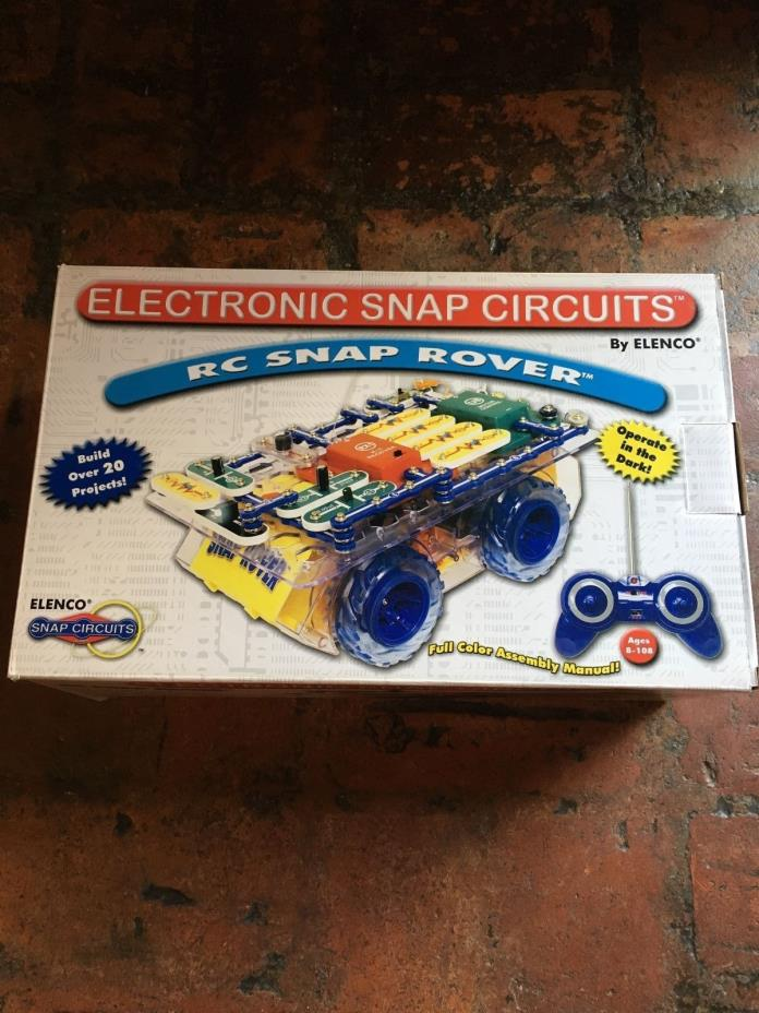 ELENCO Snap Circuits RC Rover SCROV-10 DIY  ELECTRONIC KIT AGES 8+ NEW OPENED