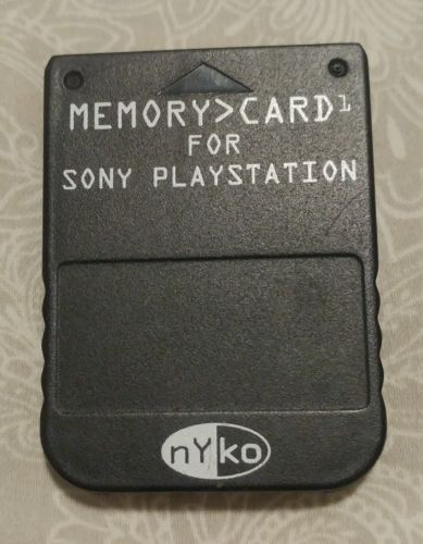 Nyko Playstation 1 Memory Card