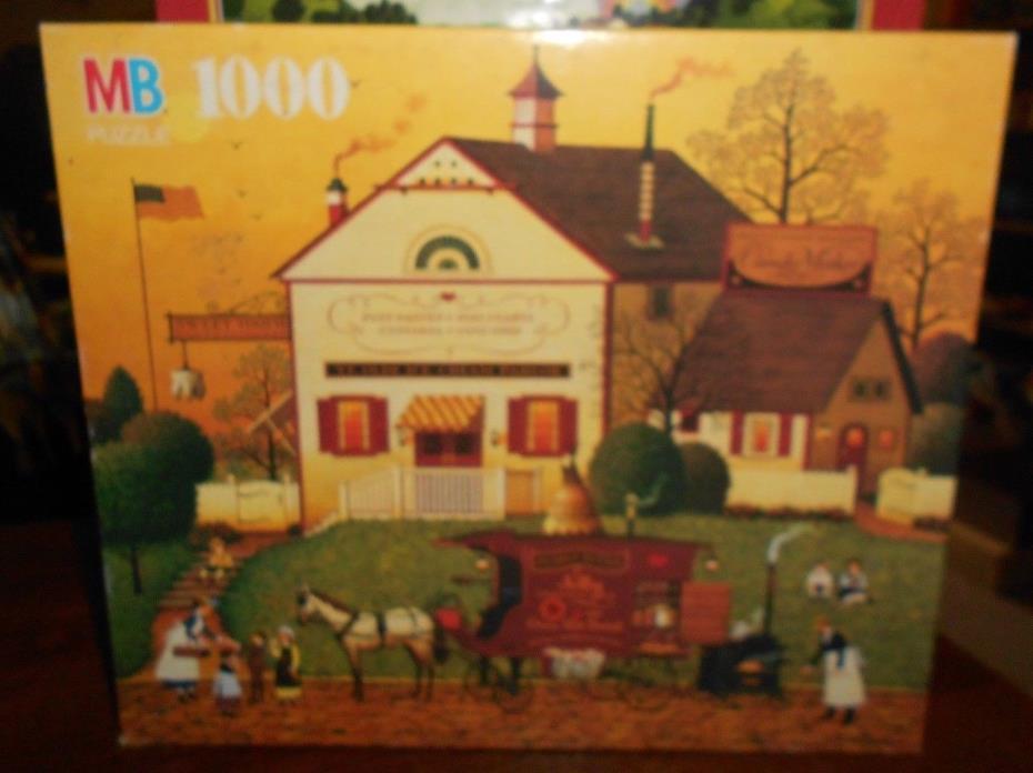 milton bradley charles wysocki's 1000pc puzzle sugar and spice