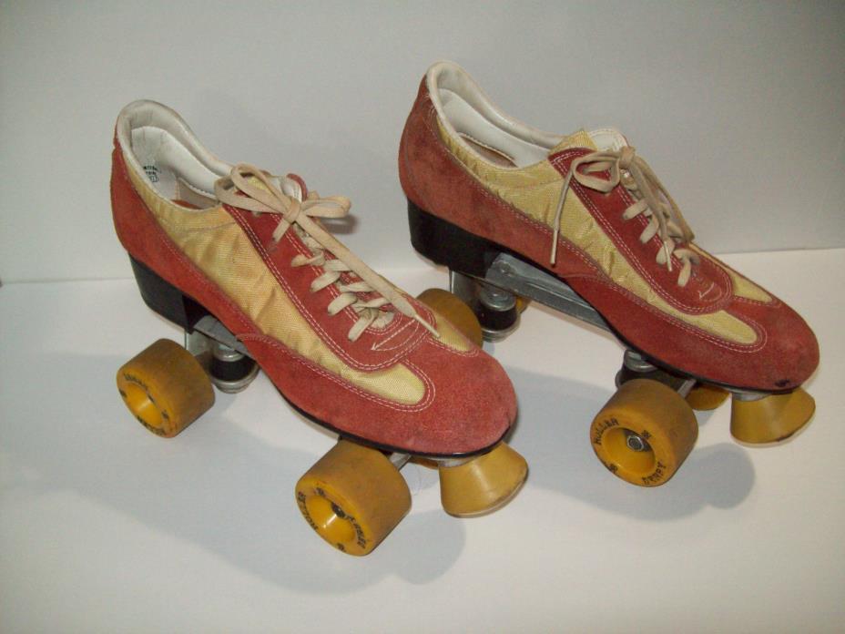 Vintage ROLLER DERBY Roller Skates Mens Size 10