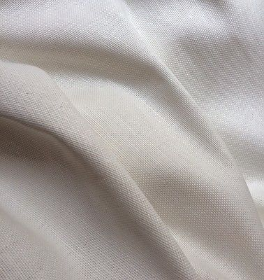 HINSON Smooth Sailing White Linen 3 yards+ New