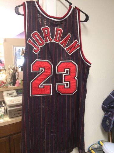 Michael Jordan Game Issued Champion Jersey FREE SHIPPING!