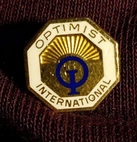 Vintage Optimist International OI Club Organization Lapel Pin