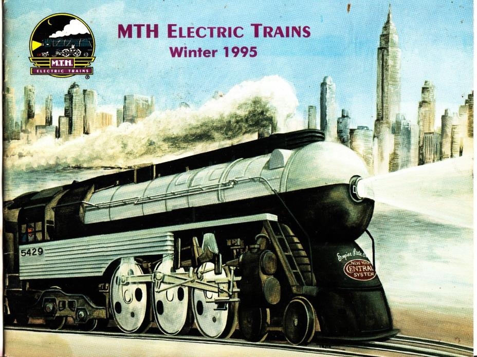 MTH ELECTRIC TRAINS WINTER 1995 CATALOG Rail King 15 Pgs 8-1/2