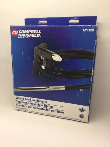Campbell Hausfeld Sand Blaster with Tube and Hose AT1226 - New