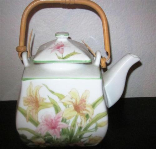 Shafford JADE LILY Teapot