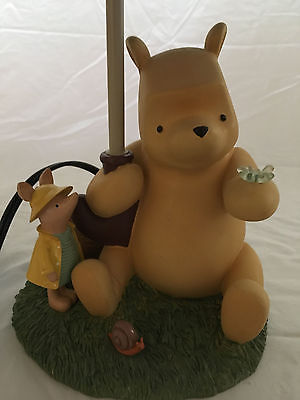 NEW Rare Winnie the Pooh and Piglet Lamp