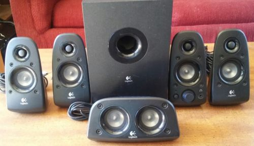 Logitech Z506 Surround Sound Speaker System SOUNDS GREAT