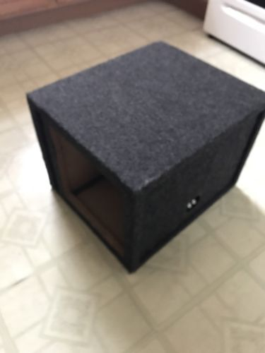 12 Inch Square Subwoofer Box