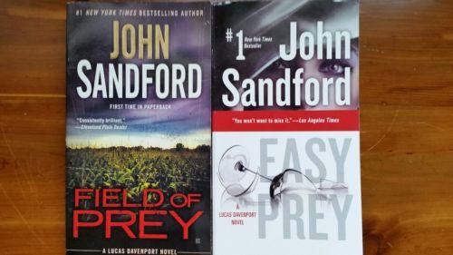 Prey series Lucas Davenport tall rack paperbacks (2) by John Sandford