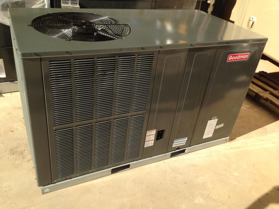 Goodman 5 TON - 13 SEER - Horizontal AC Package Unit 208-240v 1PH