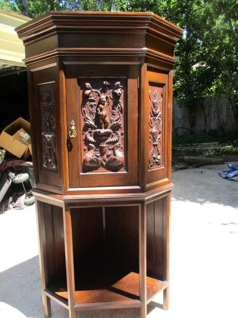 antique corner hutch for sale antique corner cabinet for classifieds 7470
