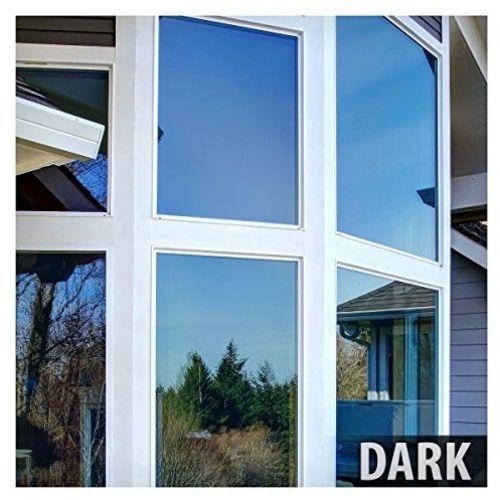 BDF PRBL Window Film Premium Color High Heat Control And Daytime Privacy Blue X