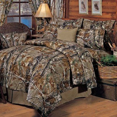Realtree All Purpose Comforter Set Queen Comforters Sets Bedding Home