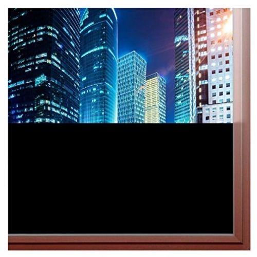 BDF BLKT Window Film Blackout Privacy (36' X 9Ft)