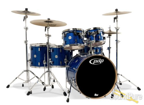 PDP 6pc Concept Maple Shell Pack Blue Sparkle