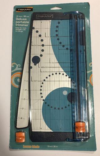 Fiskars Portable Scrapbooking Paper Trimmer [12
