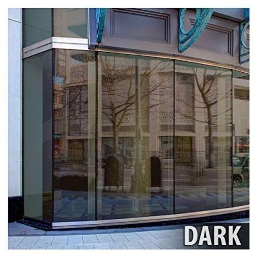 BDF BRZ20 Window Film Bronze Reflective Sun Control And Privacy (Dark) - 36in X