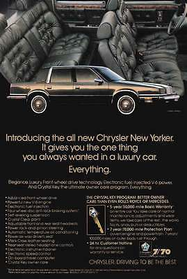1988 Chrysler New Yorker: Everything (20878)