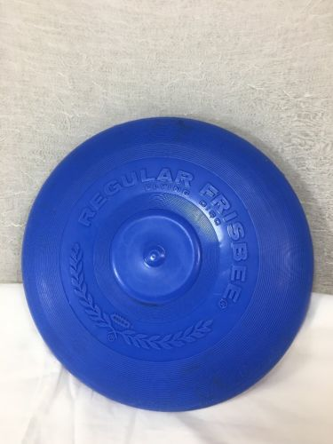 Vintage 1966 Yellow WHAM-O Regular Frisbee Flying Disc Saucer Toy Outdoor USA