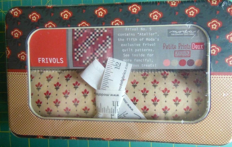 Frivols #5 Moda *French General Petite Prints Deux* Quilt Kit Collectors Tin NEW