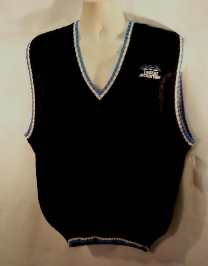 NWOT Fairway & Greene Golf VEST 100% Alpaca DESERT MOUNTAIN GC Size L