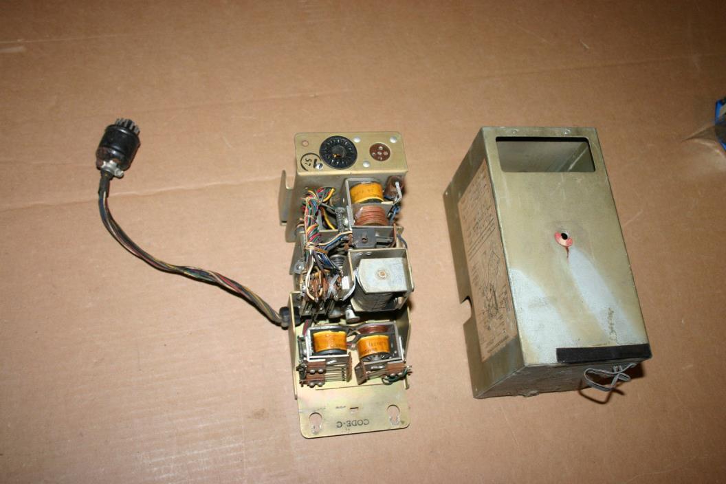 UNTESTED Seeburg jukebox pricing unit -complete and clean --Seeburg P/N# SPUI-H