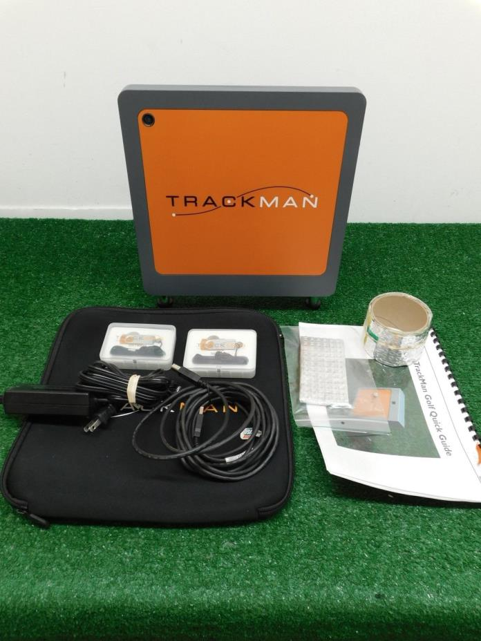 Trackman 3 Indoor Golf Radar Launch Monitor
