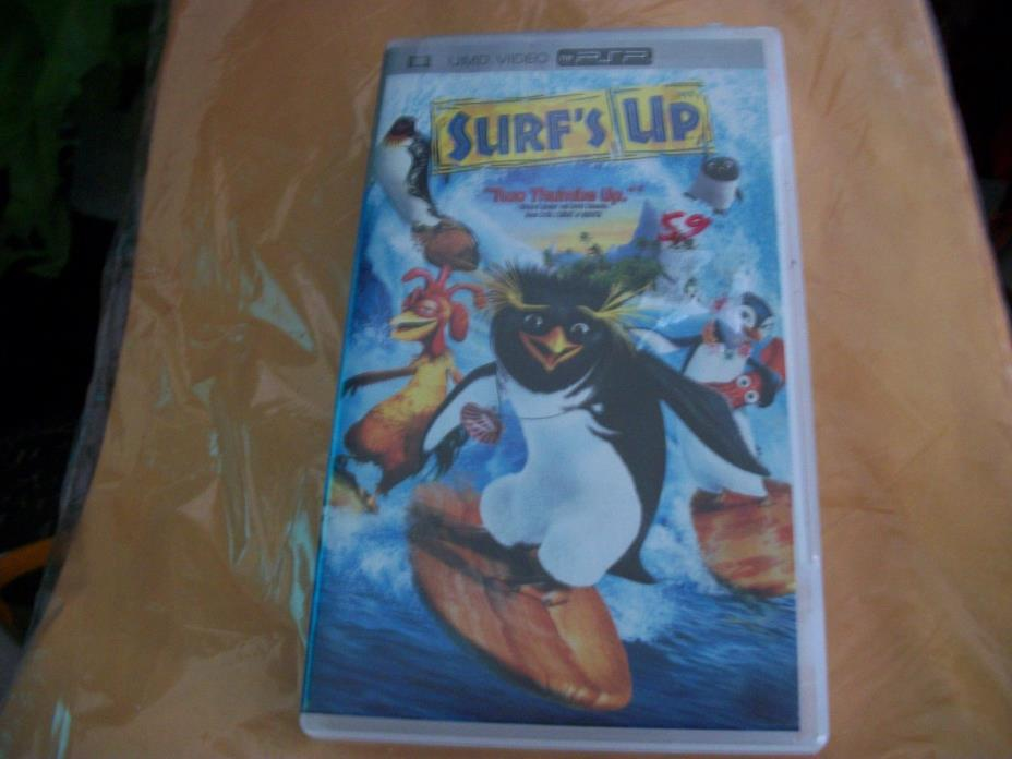 Surf's Up UMD Video PSP PlayStation Portable Movie