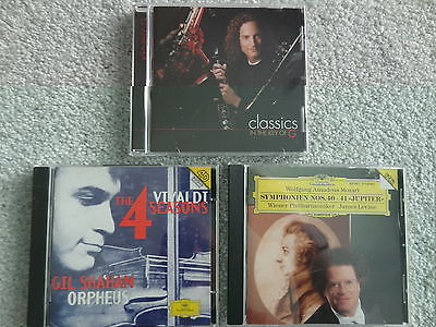 Lot of 3 Classical & Easy Listening CDs Vivaldi, Mozart, Kenny G
