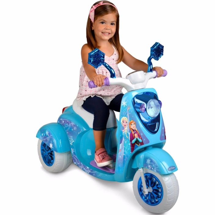 Disney Frozen 3 Wheel Scooter - 6V