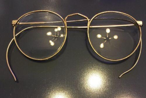 Antique Vintage AO Gold Filled Eyeglasses 1/10 12K GF Spectacles