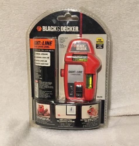 NEW! Black & Decker BDL210S Sight Line Laser Level   Excellent - Complete
