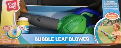 kids bubble leaf blower
