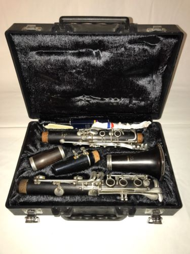 YAMAHA YCL-34 WOODEN CLARINET w/ CASE! EXCELLENT CONDITION!
