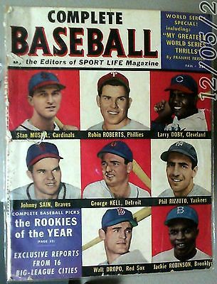 1950 Compltet Baseball Magazine By Classic Syndicate Inc Vol. ll No. 3