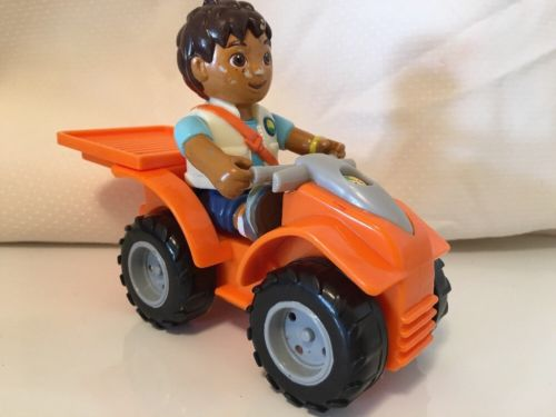 Nick Jr Go Diego Talking Rescue Center Replacement ATV 4 Wheeler 3