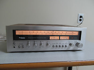 Technics SA-5360 AM FM Stereo Receiver Panasonic SA5360 Original Box Packing