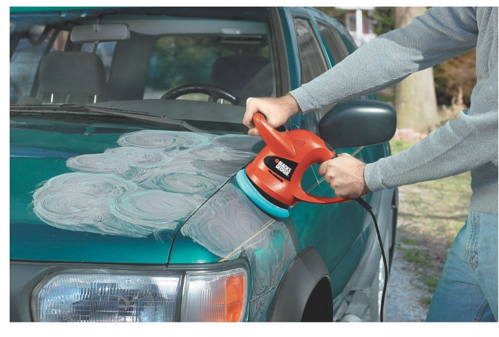 Car Wax Buffer Machine Random Orbit Polisher Remover Auto Waxer Detail Tools