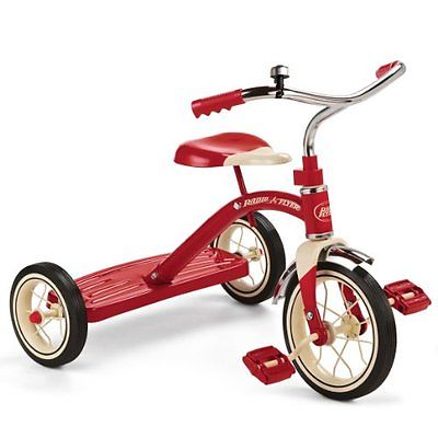 Radio Flyer Ride On Toy Kids Tricycles Trike Bike Red Sturdy Steel Construction