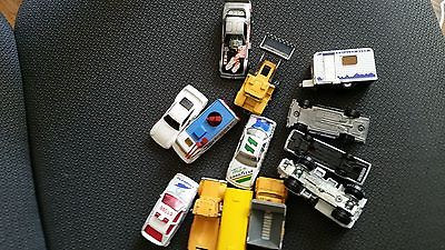 Mix Lot Of Vintage Hot Wheels, Matchbox , Misc Cars, TRUCKS, CAMPER,FISHER PRICE