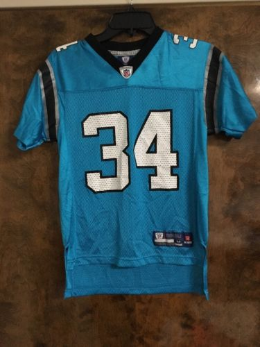 DeAngelo Williams Carolina Panthers #34 Black NFL Football Jersey Youth Small