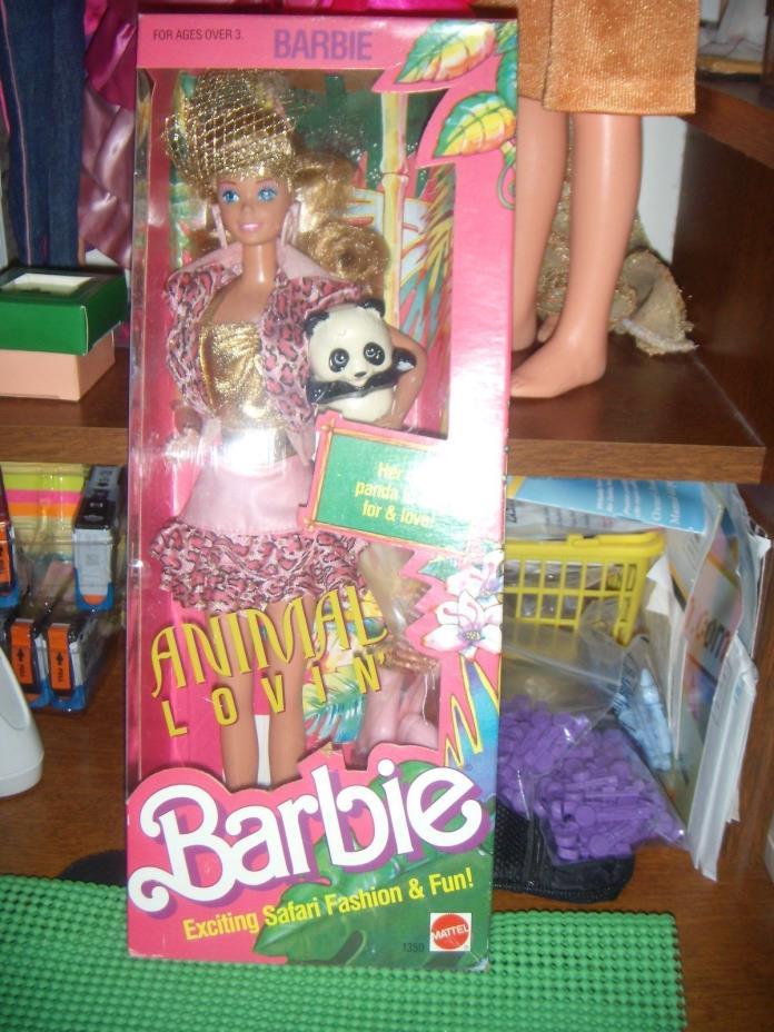 NRFB !  1988 ANIMAL LOVIN' BARBIE #2