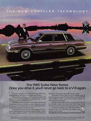 1985 Chrysler Turbo New Yorker: Ricardo Montalban (9907)