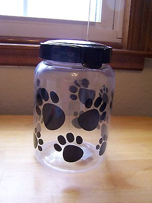 LARGE DOGGIE TREAT CONTAINER