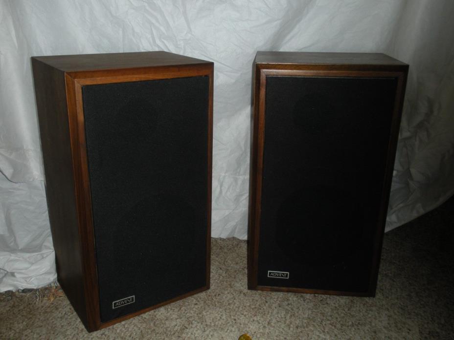Large Advent speakers