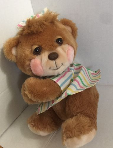 Vintage Fisher Price Teddy Beddy Bear #1401 1985 No Blanket