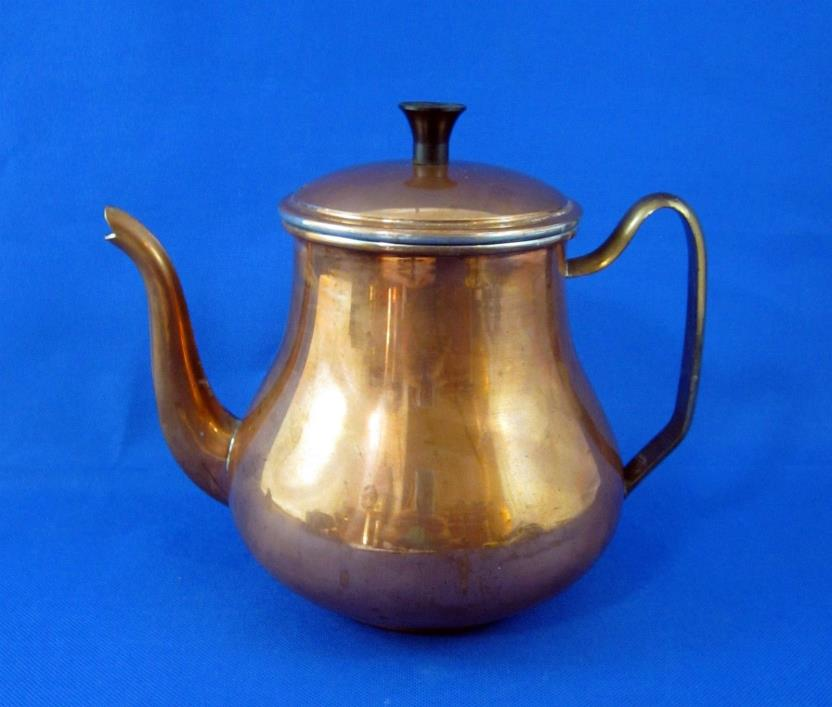 Small Copper Coffee Pot