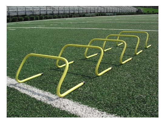 Speed Agility Hurdle Training Set of 6 Soccer Football Basketball Track NEW!