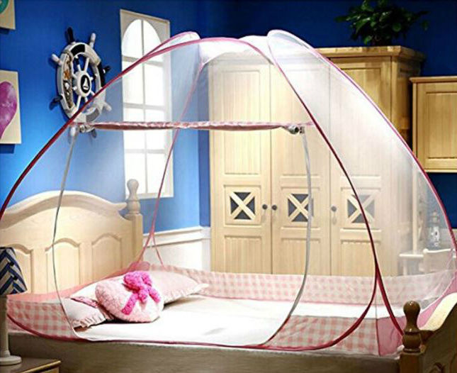 Mosquito Net For Bed Canopy Crib Netting Folding Tent Curtains Bedroom Decor NEW